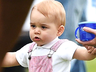 Prince William Rocks Out with George at Early Morning Feedings
