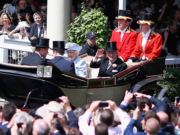 Prince Harry Looks Dapper at His First Royal Ascot Horse Race| The British Royals, The Royals, Camilla Parker Bowles, Kate Middleton, Prince Charles, Prince Harry, Prince William, Princess Beatrice, Princess Eugenie, Queen Elizabeth II