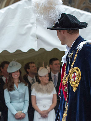 Kate Smiles for Prince William During Royal Procession| The British Royals, The Royals, Kate Middleton, Prince William