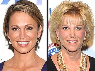 Amy Robach Gives Joan Lunden Advice on Battling Breast Cancer | Amy Robach, Joan Lunden