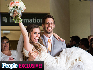Watch a Sneak Peek of Derick and Jill Duggar Dillard's Wedding