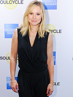 Kristen Bell SoulCycle American Express Epic Everyday Getaway