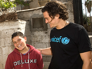 Orlando Bloom Visits Syrian Child Refugees: 'They Have Witnessed Such Pain'