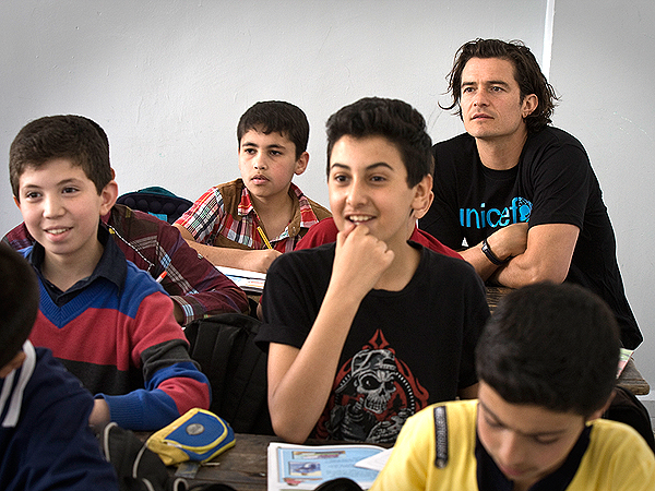 Orlando Bloom Visits Syrian Child Refugees: 'They Have Witnessed Such Pain'| Good Deeds, Orlando Bloom