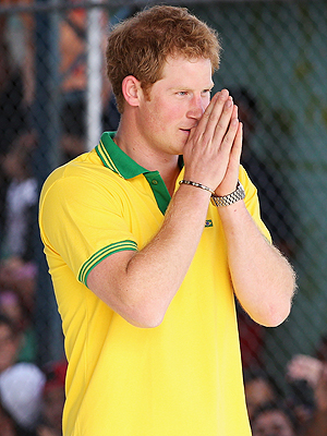 Prince Harry Meets Orphans in Brazil and Painfully Recalls Loss of His Own Mother | Prince Harry