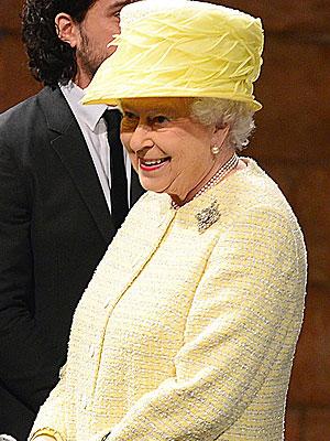 Queen Elizabeth Visits Game of Thrones Set in Belfast