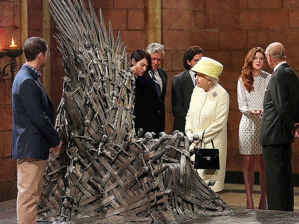 Queen Elizabeth Visits Game of Thrones Set in Belfast