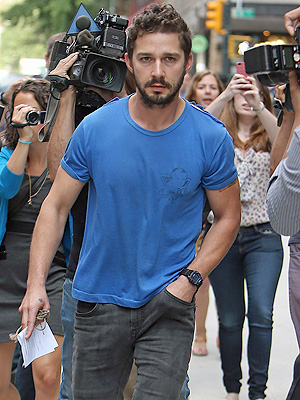 Shia LaBeouf Arrest Chronicled on Social Media (PHOTOS)