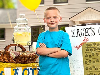 Heroes Among Us: Boy Sells Lemonade to Buy Wheelchairs for Hundreds