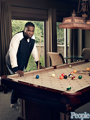 50 Cent: Inside his Connecticut bachelor pad