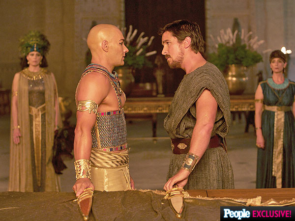 Photos: Christian Bale Goes Biblical in Exodus: Gods and Kings