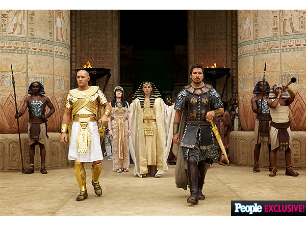 Photos: Inside the 'Rich, Grand and Epic' Exodus: Gods and Kings| Movie News, Aaron Paul, Christian Bale, Joel Edgerton, Ridley Scott, Sigourney Weaver