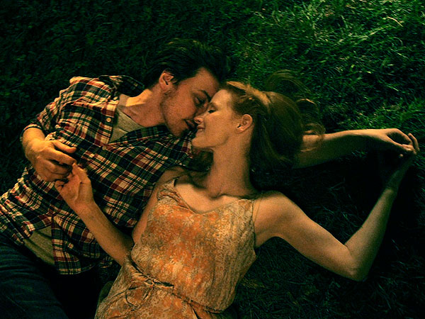 Watch James McAvoy & Jessica Chastain Fall in Love from Different Perspectives
