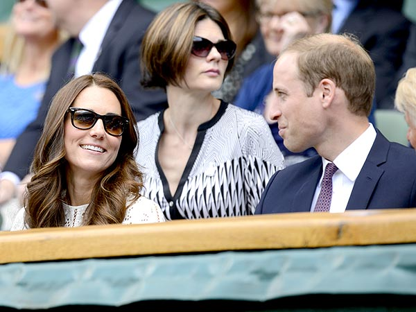 Prince William and Kate Attend Wimbledon to Watch Reigning Champ Andy Murray| Wimbleton, Wimbledon, The British Royals, The Royals, Kate Middleton, Prince William