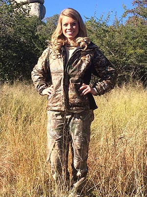 Texas Cheerleader Kendall Jones Sparks Online Outrage with African Hunting Photos| Pet News, facebook.com, Real People Stories