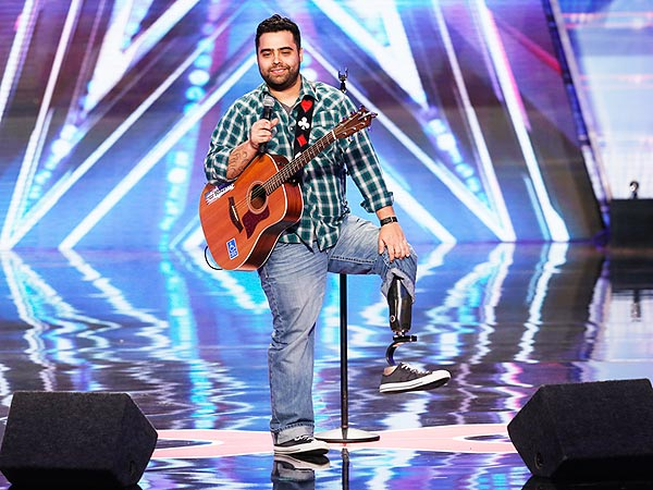 Marine Who Lost Leg in Iraq Inspires Judges on America's Got Talent