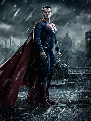 First Look: Henry Cavill as Superman in Batman v Superman: Dawn of Justice