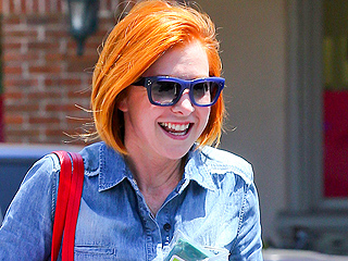 Alyson Hannigan Goes Orange! Lance Bass Goes Blue! See This Weekend's 'Firework Hair'