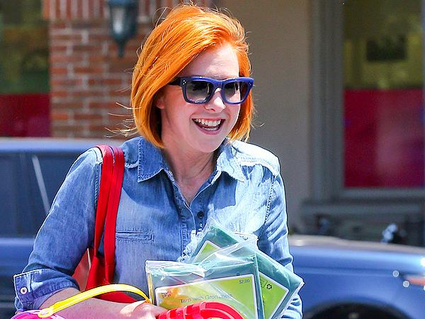 Alyson Hannigan orange hair