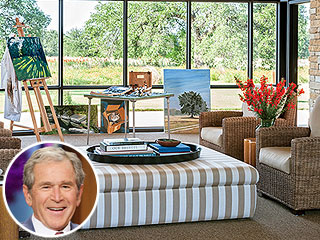 See George and Laura Bush's 'Western White House'