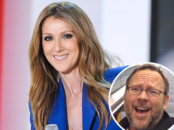 Man Behind 'All by Myself' Airport Video Meets Céline Dion