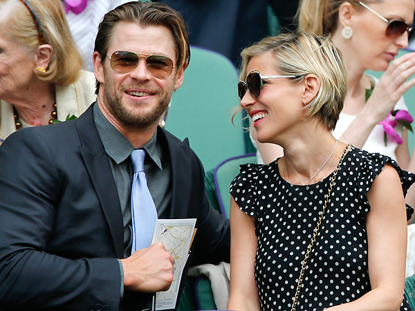 Tennis Stars: Chris Hemsworth, Victoria Beckham, Hugh Jackman & More Watch Wimbledon Men's Finals