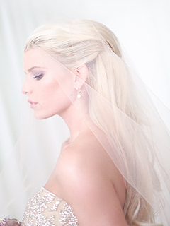 First Look at Jessica Simpson on Her Wedding Day