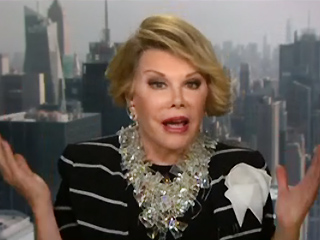 VIDEO: Joan Rivers Walks Out on CNN Interview