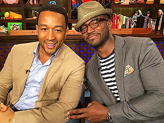 WATCH: John Legend and Taye Diggs Battle It Out to Leave the Sexiest Voicemail