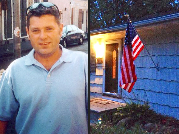 Stolen American Flag Returned to 9/11 Firefighter's Family
