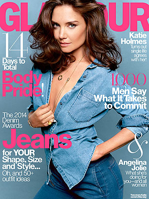 katie holmes 2 300 Katie Holmes Savors Singlehood, Calls Love for Daughter Suri Overwhelming