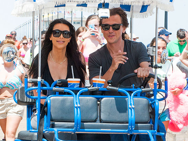 Kim Kardashian Visits Seaside Heights in New Jersey: See the Pics| Jersey Shore, Kim Kardashian