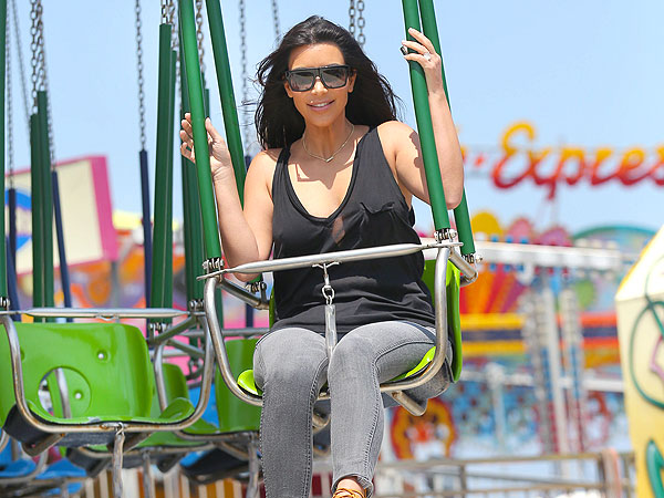 Kim Kardashian Visits Seaside Heights in New Jersey: See the Pics