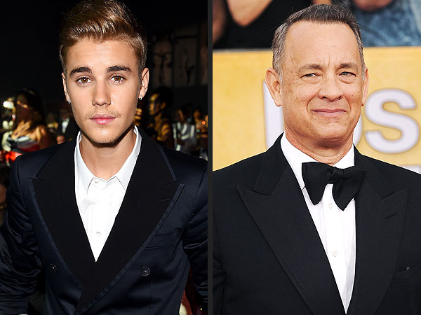 WATCH: Justin Bieber Captures Tom Hanks Busting a Move