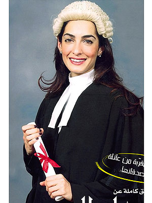 George Clooney's Fiancée's Graduation Photo Is a Must-See