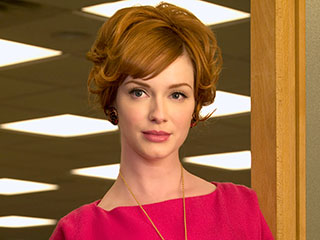 Christina Hendricks Says Agency Dropped Her When She Signed On for Mad Men | Christina Hendricks