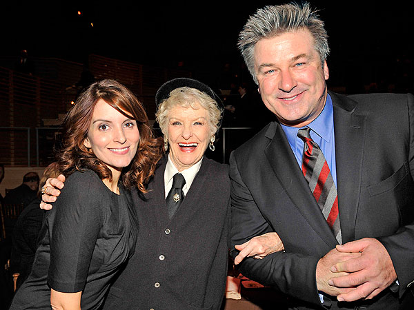 What Tina Fey Especially Loved About Elaine Stritch | Alec Baldwin, Elaine Stritch, Tina Fey
