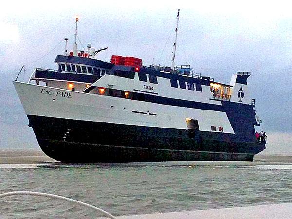 Passengers, Crew Stranded Off Georgia Coast After Casino Boat Runs Aground