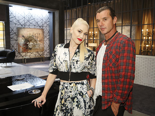Gavin Rossdale Joins Wife Gwen Stefani on The Voice