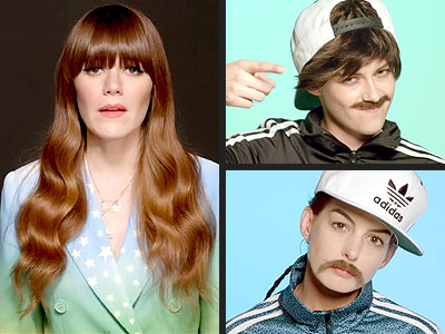 Kristen Stewart & Anne Hathaway Morph into Men for New Jenny Lewis Music Video