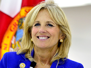 Jill Biden Cheers PEOPLE/MLB's 30 All-Star Teachers