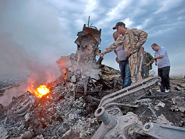 PHOTOS: Devastating Images from the Malaysia Airlines Crash