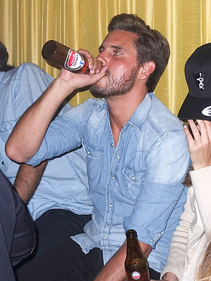 Scott Disick Hospitalized with Alcohol Poisoning