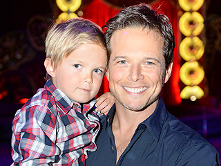 Why Scott Wolf 'Took a Knee' After Learning Third Child Was on the Way