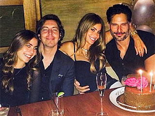 Make a Wish! Sofia Vergara and Joe Manganiello Celebrate Her Birthday (PHOTO)
