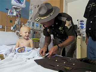 Meet America's Youngest Sheriff's Deputy