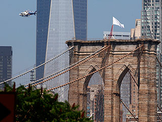 Who Switched the Flags on Top of the Brooklyn Bridge?