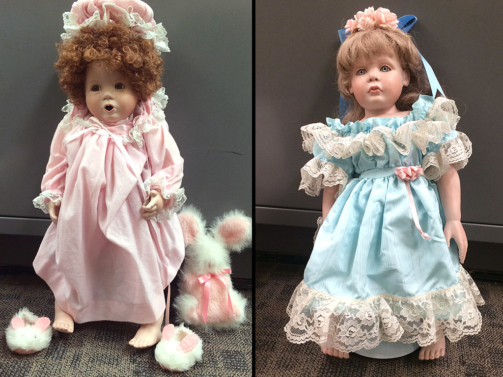 Found! Police Unmask Unlikely Culprit Who Left Dolls Outside Family's Homes