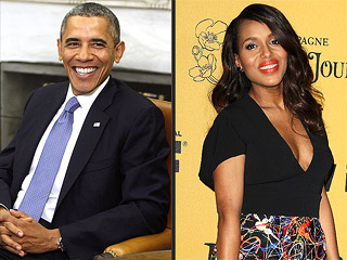 Presidential Approval! Obama Says Kerry Washington's Daughter Is 'One Cute Baby' | Barack Obama, Kerry Washington