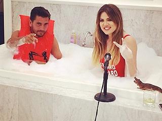 Photo: Guess Who's Taking a Bath with Khloé Kardashian